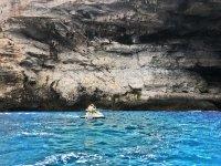 Cuevas de Cala Pi en moto de agua