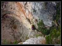 Dry Canyoning in El Capellán