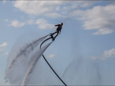 Mallorca on Jetski Flyboard
