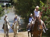 Ruta a caballo familiar en el Doñana