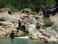Aquatic canyoning