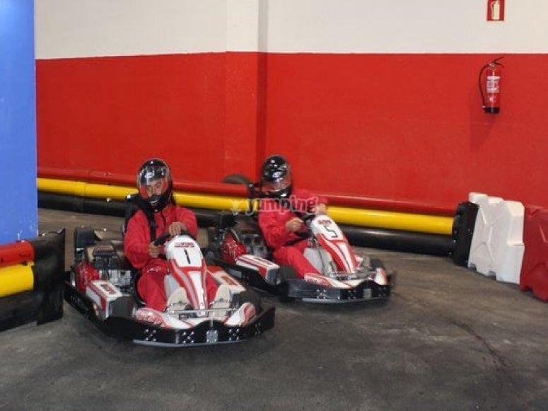 gruppo karting in salamanca