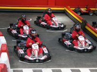 Indoor Go-karting race in Salamanca