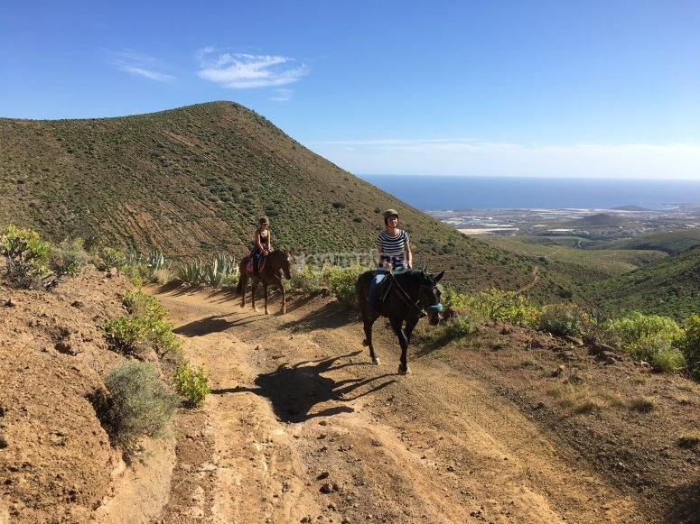 Horse riding route in Telde