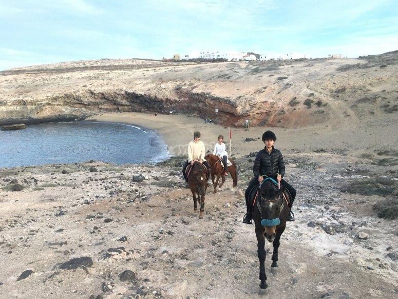 Horsebach ride