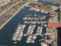 aerial view of the port1