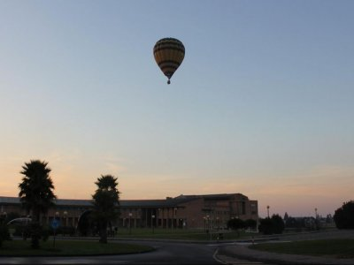 Hot air ballooning in Asturias + lunch