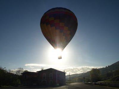Hot Air Balloon Tour, Asturias. Couple's Voucher