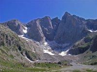 Picos pirenaicos como el Vignemale
