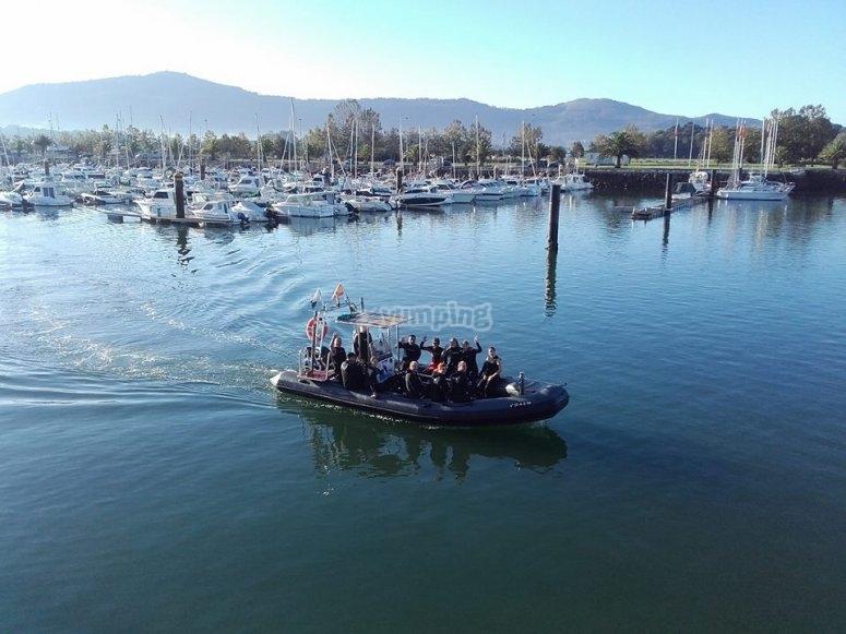 Percorso ambientale barca