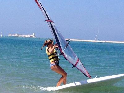 Clase de perfeccionamiento de windsurf privada 2h