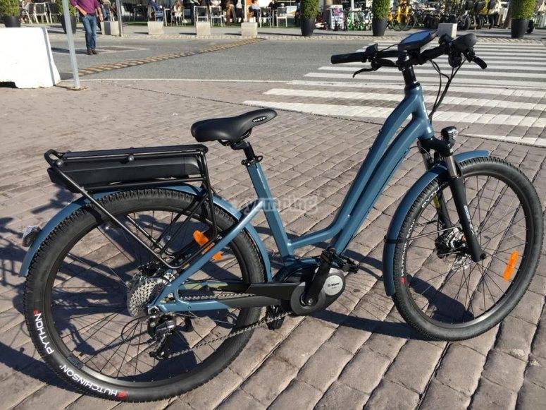 租一辆电动自行车