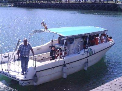 Alquiler de barco en Zumaia 1 hora