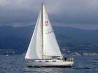Navegando por la costa de Lugo.JPG