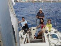 享受大海和风--999-巴塞罗那帆船度