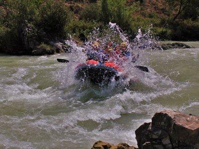 Rafting di mezza giornata e sistemazione a Órgiva