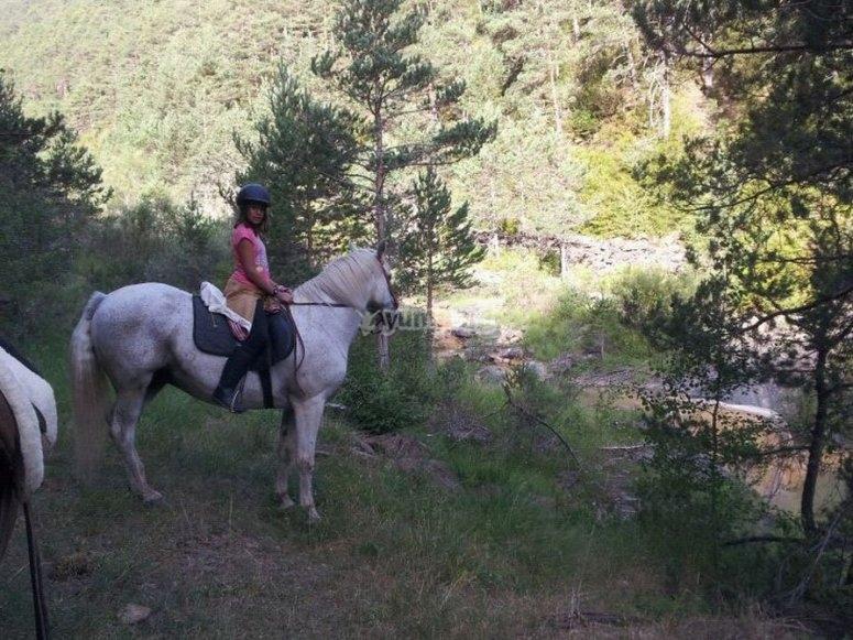 ruta a caballo en huesca