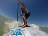 Clase privada de paddle surf en Sancti Petri 1 hr