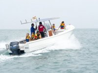 Alquiler de barco a motor en Sancti Petri, 1h