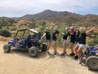 Día de chicas con una ruta en buggy
