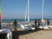 Our catamarans