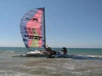 Learn to sail in a catamaran