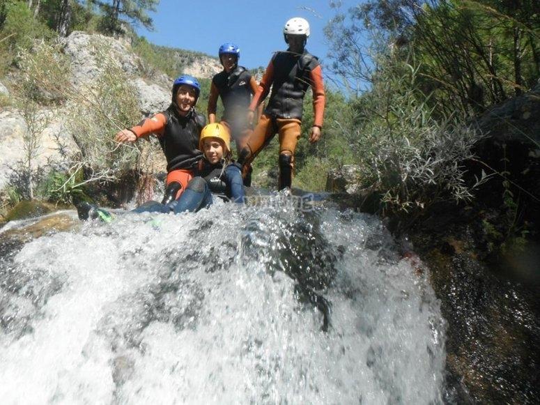 Cascada de barranco Hoz Somera
