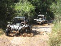 Excursión en buggy y en moto de agua en Alcocéber