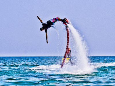 Flyboard session in the coast of Alcocéber 20 min