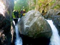 Nella cascata