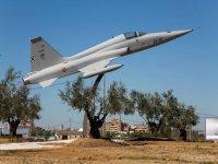 Takeoff at the aerodrome of Badajoz