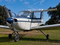 Airplane Piper PA38 in Badajoz