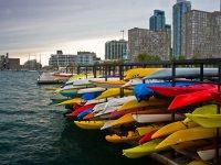 Kayaks vacias