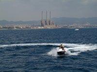 喷气滑雪30分钟和香蕉船10分钟巴塞罗那