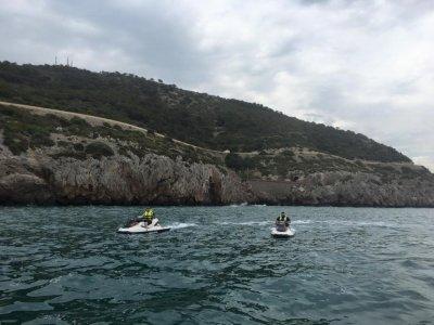 Costa del Garraf喷气滑雪游览4小时