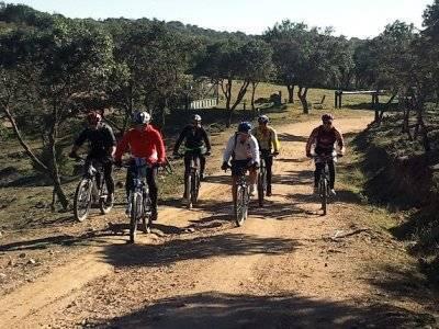 MTB route around Valle de Lozoya, 4 h