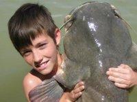 Aprenda a pescar desde peque