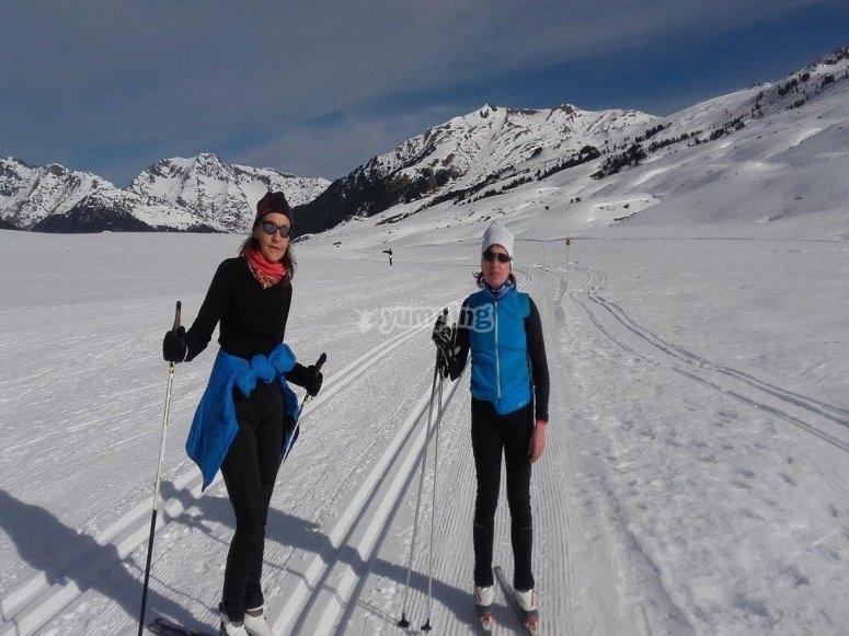 Ven a practicar esqui