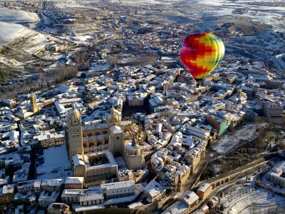 Balloon flight in Segovia + Brunch + Audiovisuals