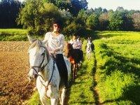 1 hour horse riding tour in Sesamo