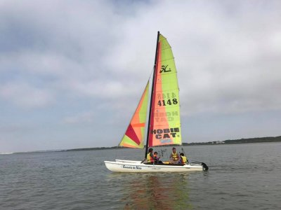 Corso di iniziazione in catamarano a El Rompido 5 ore