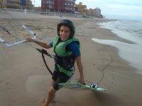 Kitesurf para niños