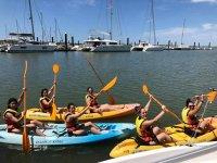 Alquiler de kayak doble en El Rompido 1 hora
