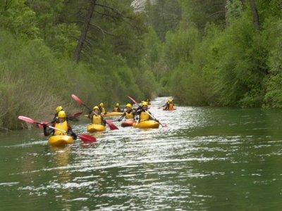Discesa in canoa 2 giorni + alloggio