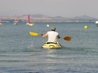 Noleggio kayak individuale Manga del Mar Menor 1h