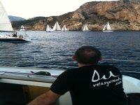 Observando los veleros