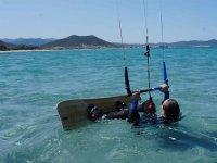 卡斯特尔德费尔斯风筝冲浪