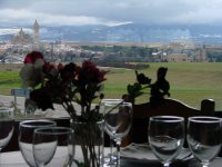 Views of Segovia from La Postal restaurant