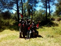 Valle del Jerte paintball stage