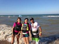 Iniciacion风筝冲浪风筝夏令营在瓦伦西亚风筝标志